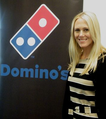 Jane Walker Joins the Domino's Ranks (PRNewsFoto/Domino's Pizza)
