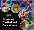 Cover of The Collection of The National Quilt Museum book.  (PRNewsFoto/National Quilt Museum)