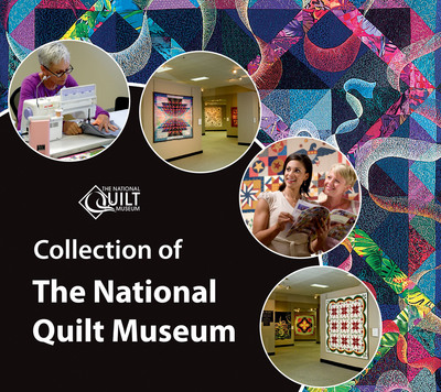Cover of The Collection of The National Quilt Museum book. (PRNewsFoto/National Quilt Museum) (PRNewsFoto/NATIONAL QUILT MUSEUM)