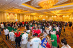 More than 1,000 volunteers at The Venetian Las Vegas assemble hygiene kits as part of the Las Vegas Sands Global Hygiene Kit Build with Clean the World, a 24-hour global effort that took place sequentially at Las Vegas Sands' Singapore, Macao, Bethlehem and Las Vegas properties.  Volunteers worked around the clock and around the globe to build 200,000 hygiene kits, the most ever assembled for Clean the World, for people in need.