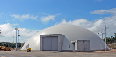 Plant Vogtle's FLEX Dome houses portable emergency equipment and adds yet another layer of protection to the robust safety systems of units 1 and 2.