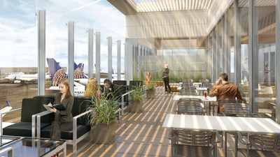 LA's Hottest New Club: Chic, Contemporary United Club Unveiled at LAX