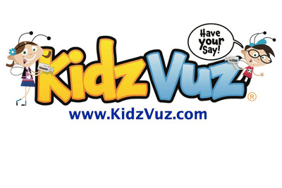 KidzVuz.com, the video review and sharing site where children ages 7-12 create, comment and connect, has released the first video creation app specifically designed to let kids post videos on-the-go.  (PRNewsFoto/KidzVuz. LLC)