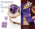 JTV has holiday gifts wrapped in gold that are stylish all year long. (PRNewsFoto/Jewelry Television)