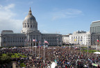 Walk for Life West Coast Closes San Francisco's Market Street for More Than a Mile