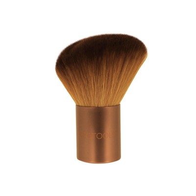 The new EcoTools Angled Kabuki Brush is the largest and softest brush in the EcoTools line. It's ideal for adding definition and glow to your face, neck, decolletage and shoulders with a sweep of bronzer or powder.