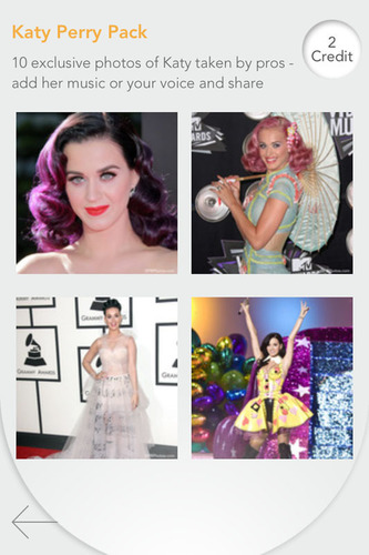 New Exclusive Celebrity Photo Collection Lets Shuttersong App Users Create Musical Fan Pictures