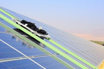Ecoppia Announces World's First Completely Autonomously-Cleaned Solar Energy Park