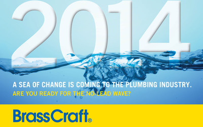 Are You Ready For The No Lead Wave?.  (PRNewsFoto/BrassCraft Manufacturing Company)