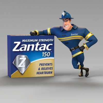 Zantac(R) Launches Innovative Integrated Marketing Campaign to Educate Consumers on Heartburn Relief. (PRNewsFoto/Boehringer Ingelheim Pharmaceuticals, Inc.) (PRNewsFoto/BOEHRINGER INGELHEIM...)
