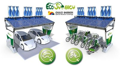Eco-Synergy – Wind and solar charging station for electric vehicles