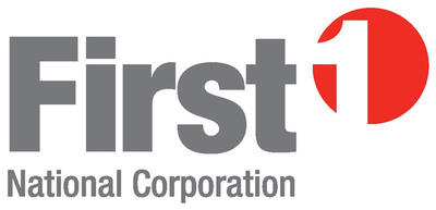 First National Corporation Logo.  (PRNewsFoto/FIRST BANK)