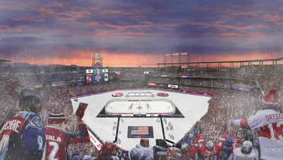 The Colorado Avalanche will face the Detroit Red Wings in Denver this year, in the first-ever outdoor professional hockey game to be hosted at Coors Field.