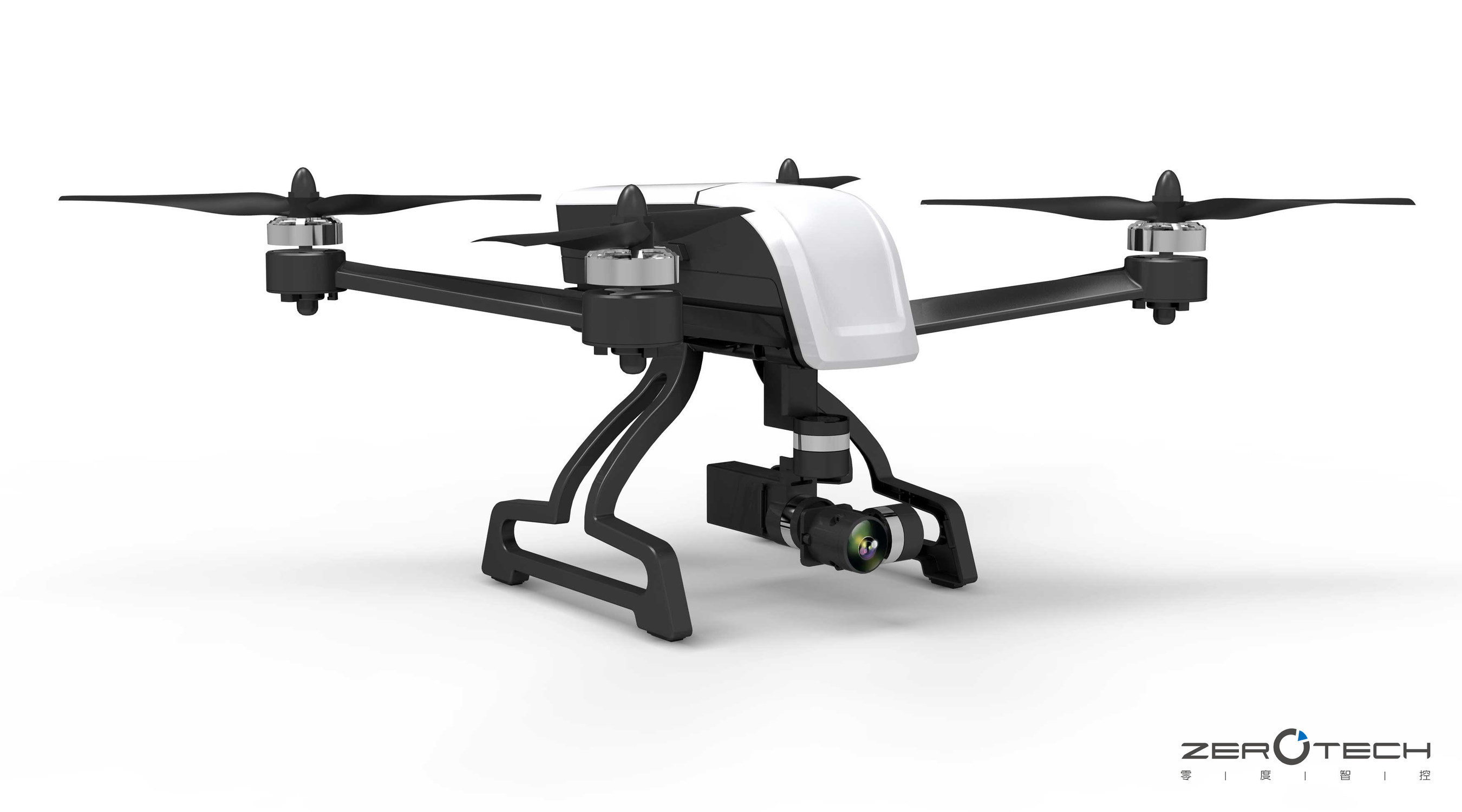 The World Leader in Professional Drones-ZEROTECH Debuts the Most Compact 4K Drone That Carries Mechanical Stabilization Gimbal at CES2016 Show