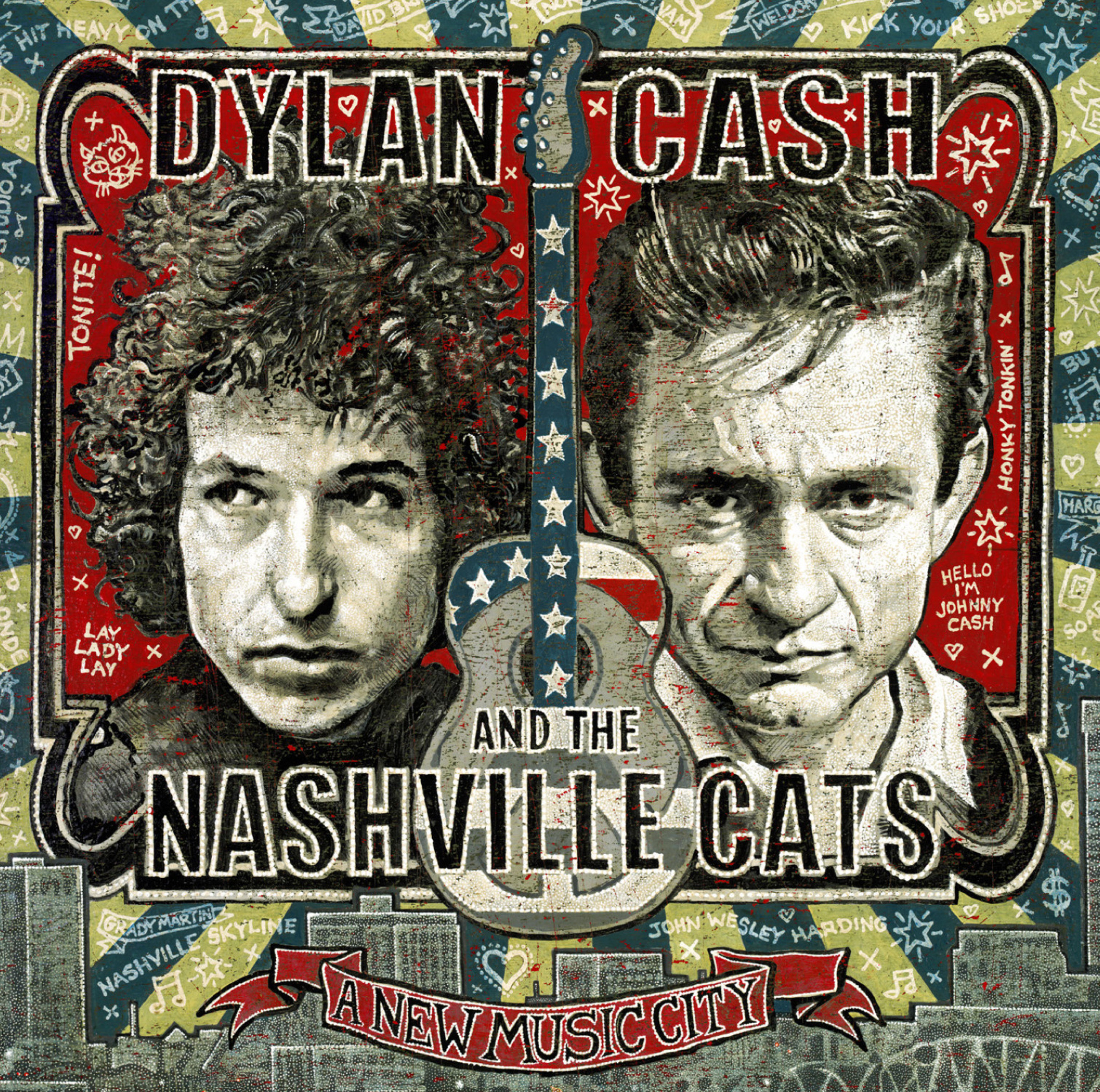 Legacy Recordings, in Association with CMF Records, Set to Release Dylan, Cash, and the Nashville Cats: A New Music City, a 2CD Sonic Companion to Historic Exhibit On Dis