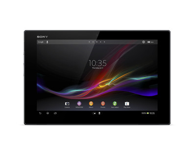 Sony Xperia Tablet Z.  (PRNewsFoto/Sony Electronics, Inc.)