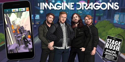 Stage Rush: Imagine Dragons lets you play as your favorite Imagine Dragon on your smartphone.  Even better, for every $1.99 download purchase, $1 will be donated to Imagine Dragons' foundation, the Tyler Robinson Foundation, during the first month of release.  The Tyler Robinson Foundation was created by Imagine Dragons and Tyler Robinson's family in 2015 to help families deal with the financial and emotional costs of childhood cancer.  The more games downloaded, the more money will go to TRF. After the first month, 25% of the revenue from a game download will got to TRF.