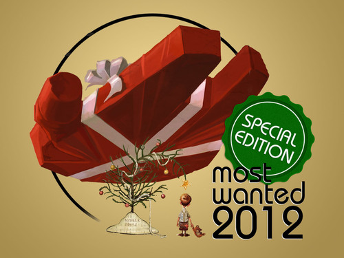 Most Wanted 2012 Special Edition for Appy Geek and Appy Gamer news apps.  (PRNewsFoto/Mobiles Republic)