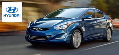 Hesser Hyundai makes room for the 2015 Hyundai Elantra. (PRNewsFoto/Hesser Hyundai)