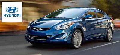 Hesser Hyundai makes room for the 2015 Hyundai Elantra. (PRNewsFoto/Hesser Hyundai)