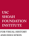 USC Shoah Foundation Institute Logo.  (PRNewsFoto/USC Shoah Foundation Institute)