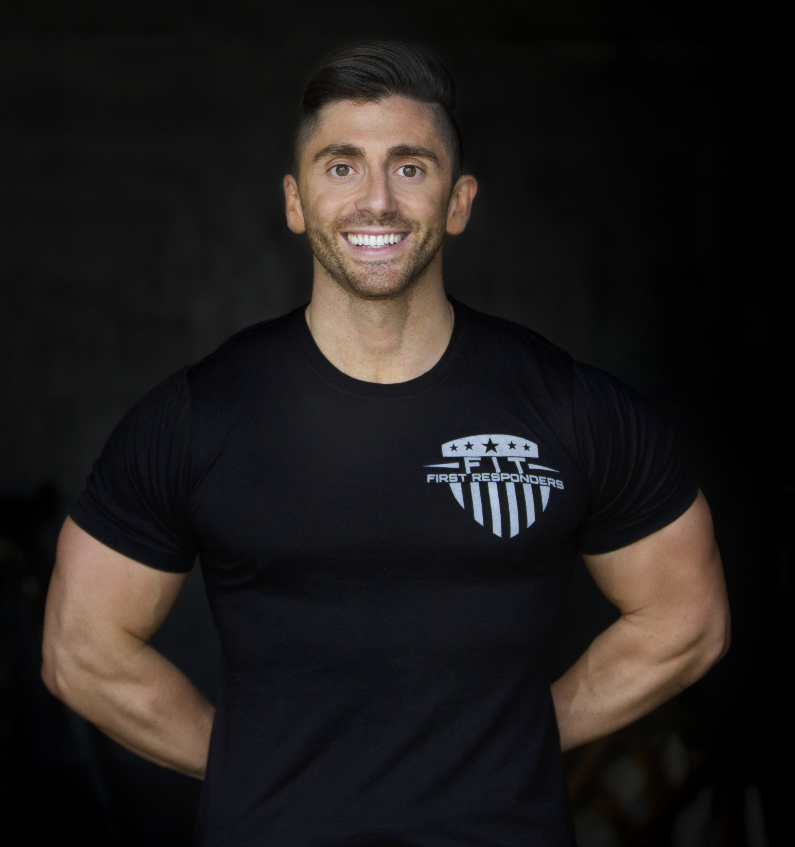 Fit First Responders Founder, Jonathan Conneely