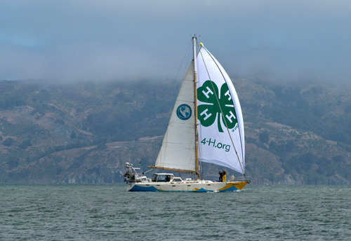 New 4-H Marine Research Vessel Sets Sail for Camp