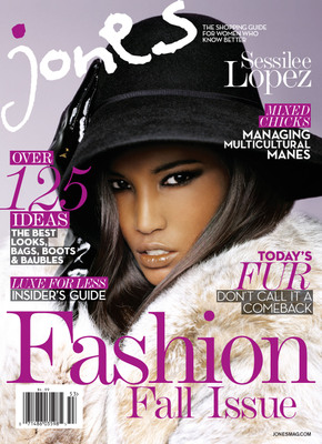 JONES Magazine Celebrates Fierce Fall Fashion With Double Covers Featuring Supermodel Sessilee Lopez and Presenting Anais Mali