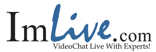 Video chat live with experts. (PRNewsFoto/ImLive.com)