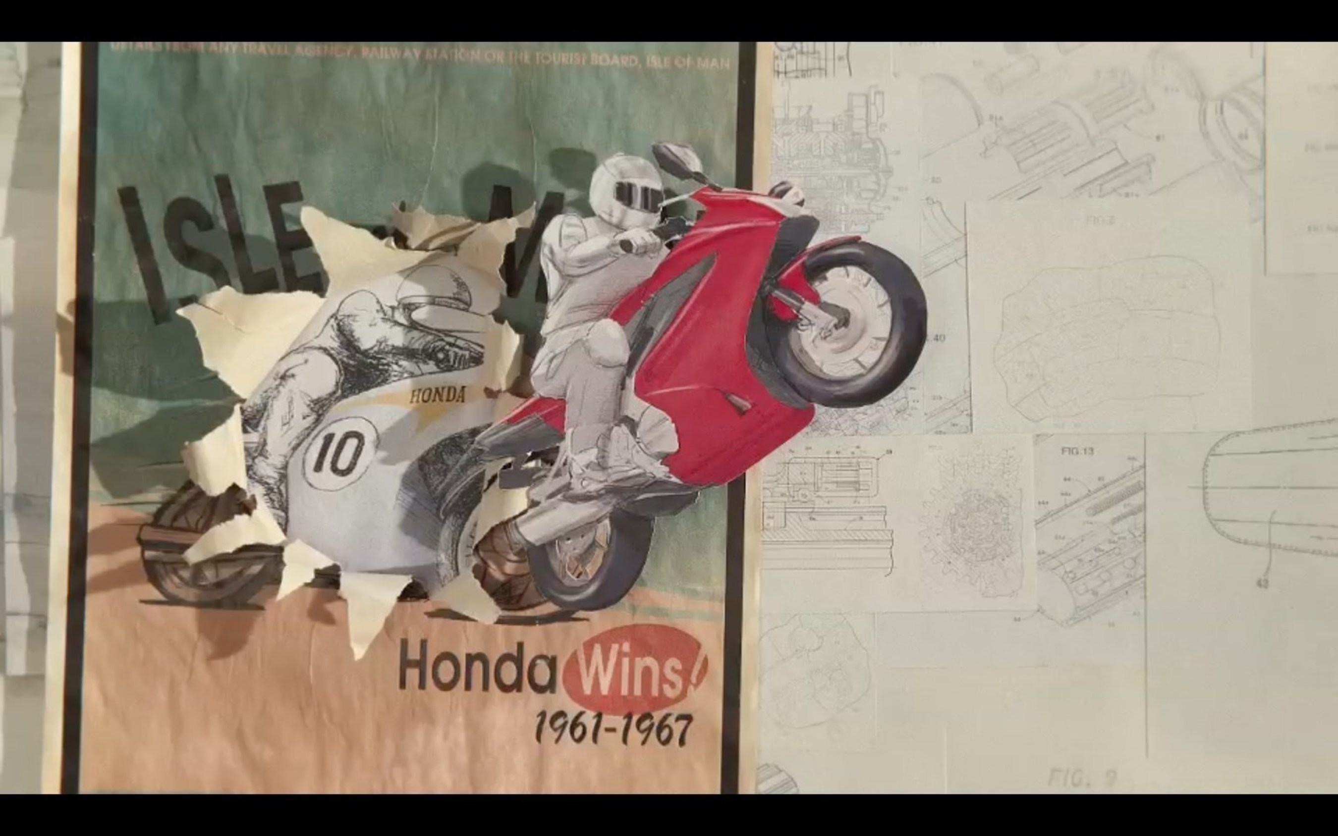 Honda Brings 'The Power of Dreams' to Life With Two-Minute Commercial Created by Stop-Motion Artist and Influencer PES