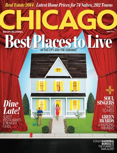 April Issue of Chicago magazine. (PRNewsFoto/Chicago magazine) (PRNewsFoto/CHICAGO MAGAZINE)