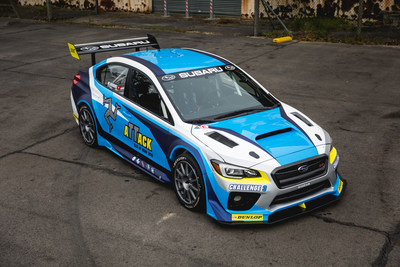 Subaru reveals official livery for its 2016 Isle of Man TT Challenge 3. The 2016 Subaru WRX STI was specially developed by Subaru of America, Prodrive, and Subaru Tecnica International for the challenging Isle of Man circuit