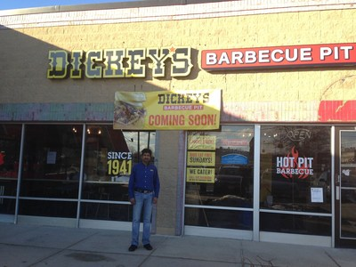 Dickey's Barbecue Pit arrives in Downers Grove on Thursday with a three day grand opening celebration where the first 50 guests receive gift cards.