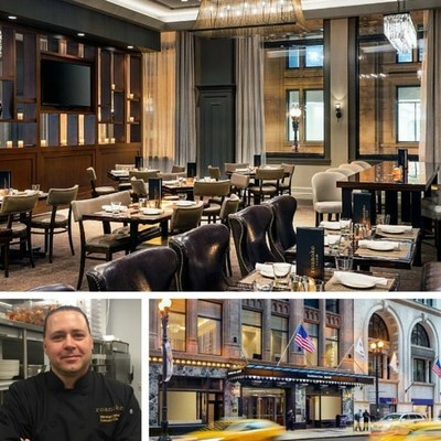 Looking forward to the opening of Roanoke Restaurant later this year, Residence Inn Chicago Downtown/Loop names Marshall Ziehm as the hotel's new executive chef. For information, visit www.marriott.com/CHIRL or call 1-312-223-8500.