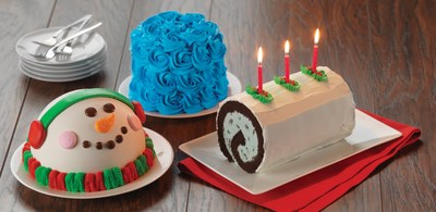 Baskin-Robbins Is Spreading Holiday Cheer This Season With A Festive Lineup Of Ice Cream Cakes And Cool Flavor Of The Month York(R) Peppermint Pattie