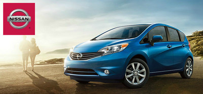 """If the 2015 Nissan Versa Note were a podcast, Chicago-area drivers would find it in the """"new and noteworthy"""" section. (PRNewsFoto/Continental Nissan)"""