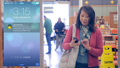 inMarket Mobile to Mortar iBeacon Network - in-store rewards