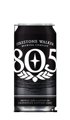 Firestone Walker has released its 805 craft beer in 12-ounce aluminum cans from Ball Corporation. (PRNewsFoto/Ball Corporation)