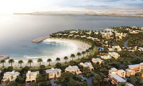 Al Marjan Island (PRNewsFoto/RAKFIF)