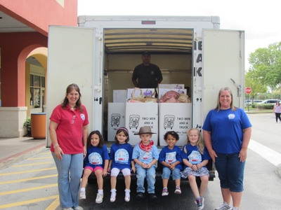 More than 400 schools across the country have joined the TWO MEN AND A TRUCK Movers for Moms program supporting moms in domestic abuse or homeless shelters on Mother's Day.