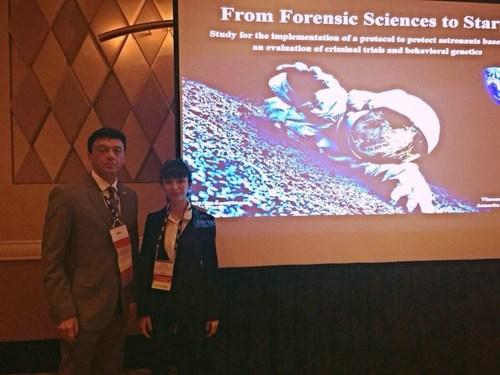 Vincenzo Lusa JD, Annarita Franza PhD, American Academy of Forensic Sciences, 68th Annual Meeting, Las Vegas ...