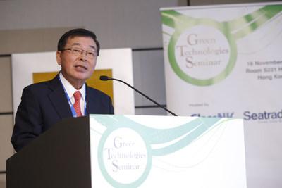 Noboru Ueda, Chairman and President, ClassNK