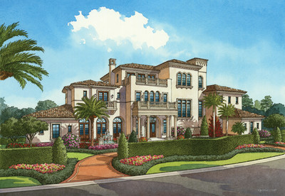 (Aug. 7, 2015) Disney began sales of Four Seasons Private Residences Orlando at Walt Disney World Resort this week, the most recent phase of development in the luxury resort-residential community of Golden Oak. Nestled within Golden Oak and offering private entry to Four Seasons Resort Orlando, these single-family custom homes will feel like an extension of the Resort with amenities just steps away. (Artist Concept)