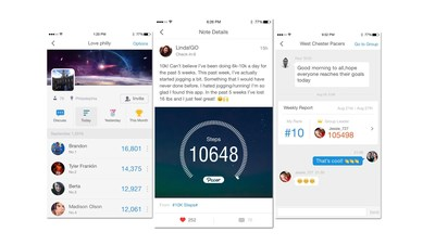 Popular activity tracking app Pacer Pedometer