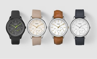 Timex Launches IQ+ Move, New Line of Sophisticated Analog Timepieces for Men and Women Equipped with Discreet and Incognito Activity Tracking Technology