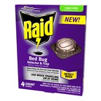 The new Raid(R) Bed Bug Detector & Trap helps you expose evidence of bed bugs before an issue becomes an infestation.