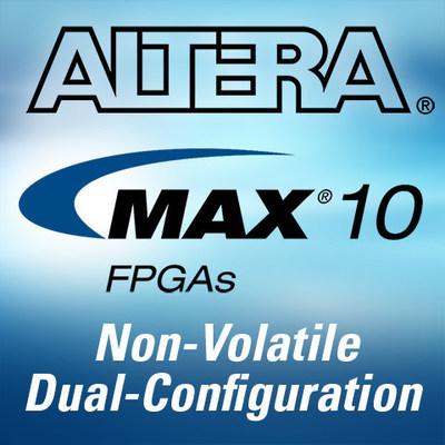 Non-volatile MAX 10 FPGAs (PRNewsFoto/Altera Corporation)