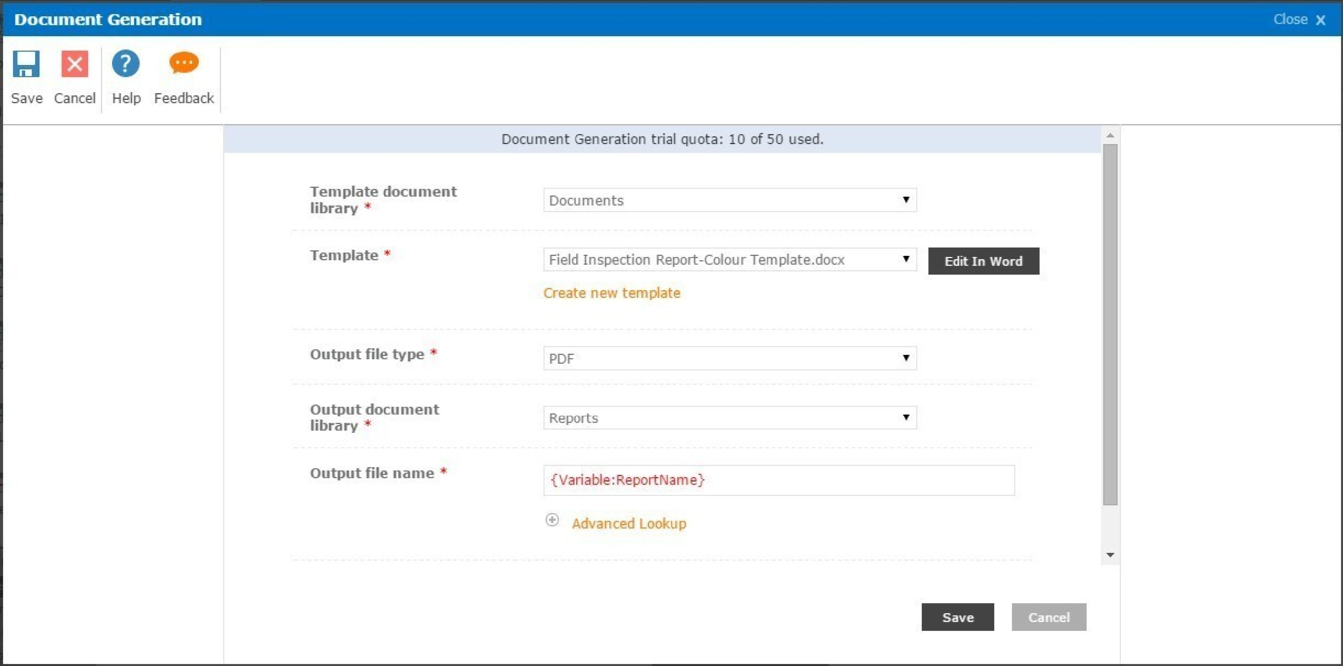 Accelerate Business Results with Document Generation in Nintex for Office 365
