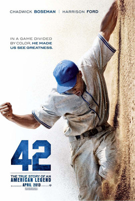 42, The True Story of American Legend Jackie Robinson, scheduled to hit theatres April 12th.  (PRNewsFoto/Marriott International)