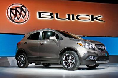 2013 Buick Encore in San Antonio, TX at Cavender Buick GMC North.  (PRNewsFoto/Cavender Buick GMC North)